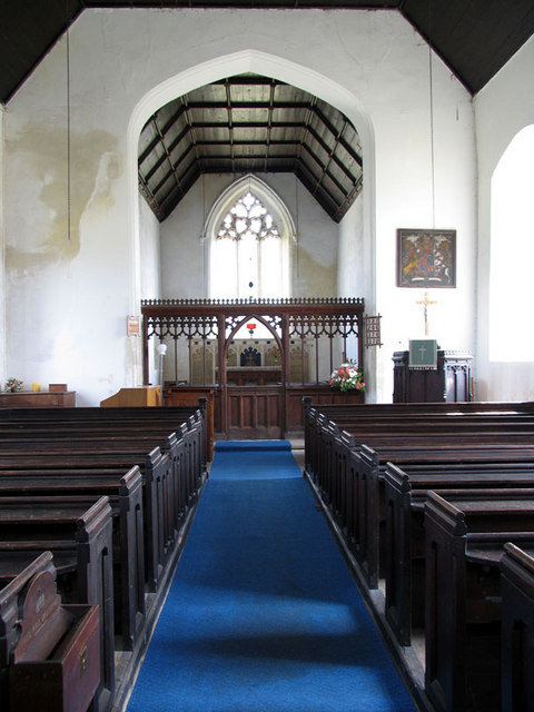 St Botolph, Stow Bedon, Norfolk - East end