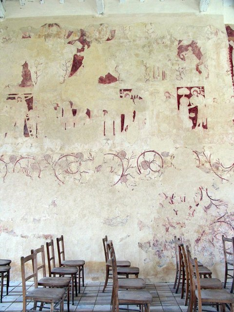 St Faith, Little Witchingham, Norfolk - Wall paintings