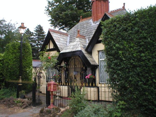 Eastham village park keeper's cottage.