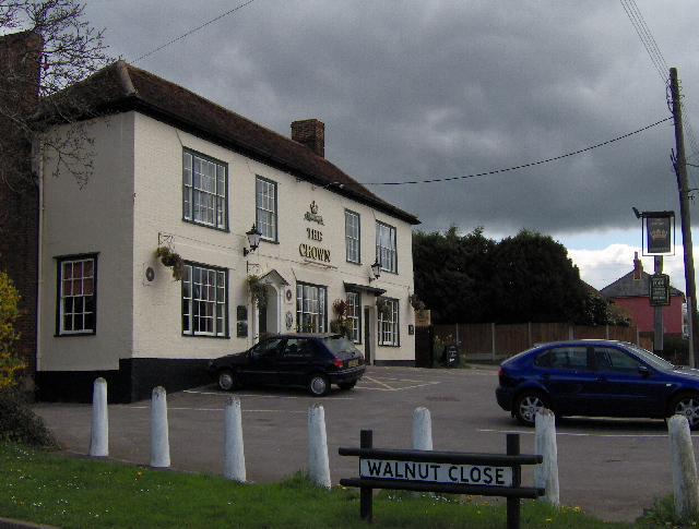 The Crown, Acton, Suffolk