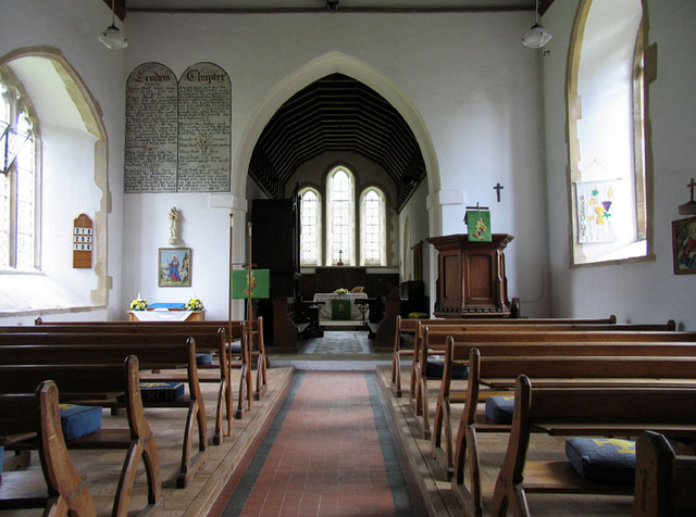 St Mary, Crimplesham, Norfolk - East end