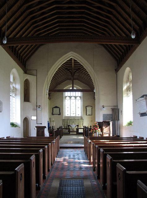 St Andrew, West Dereham, Norfolk - East end