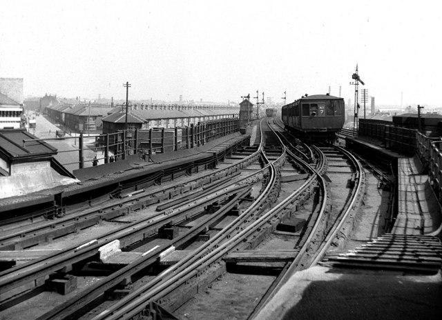 Liverpool Overhead Railway, Seaforth Sands