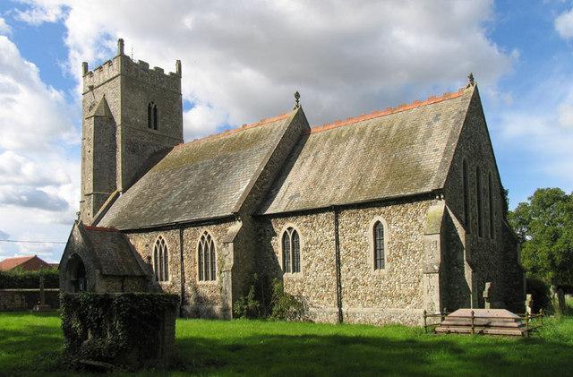 All Saints, Boughton, Norfolk