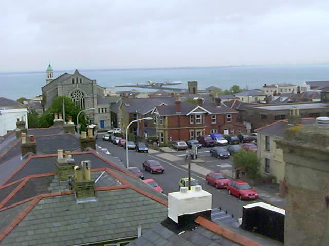 Ryde Methodist Church and Ryde pier