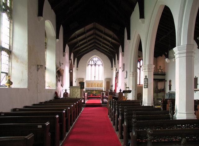 Holy Trinity, Marham, Norfolk - East end