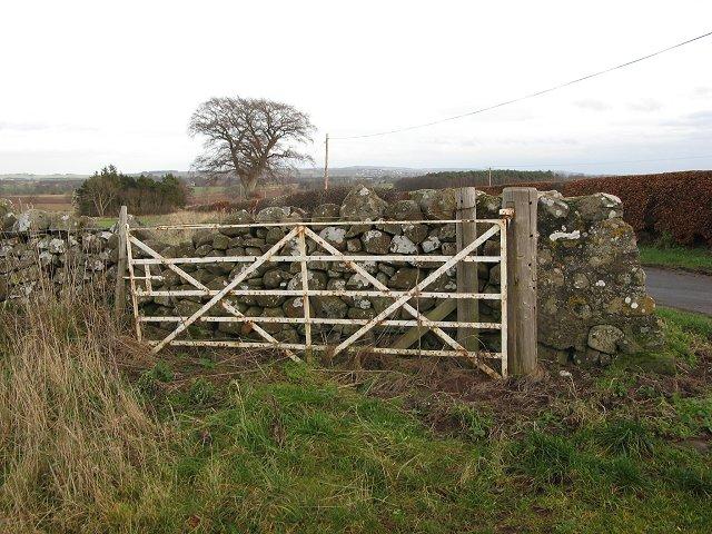 Iron gate, Manderston