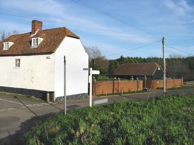 House at the junction of Mill Road and Wingham Well Lane