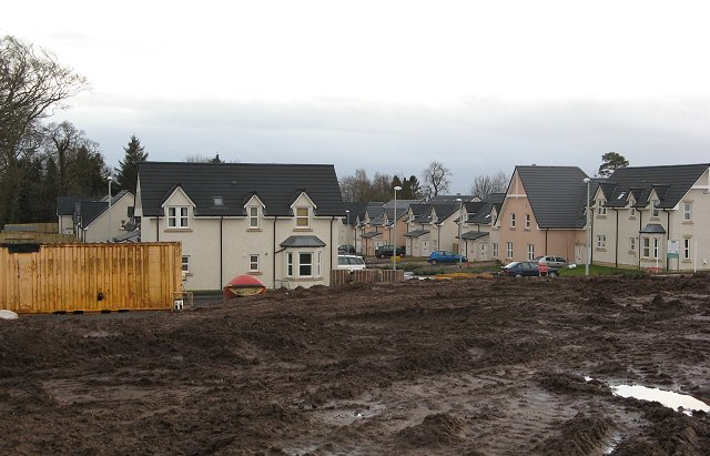 New houses, Duns