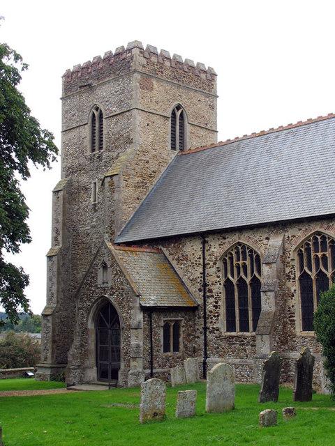 All Saints, Shouldham, Norfolk - Tower