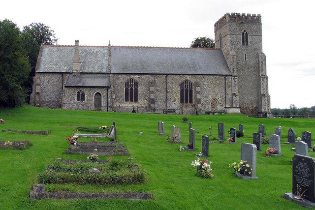 All Saints, Shouldham, Norfolk