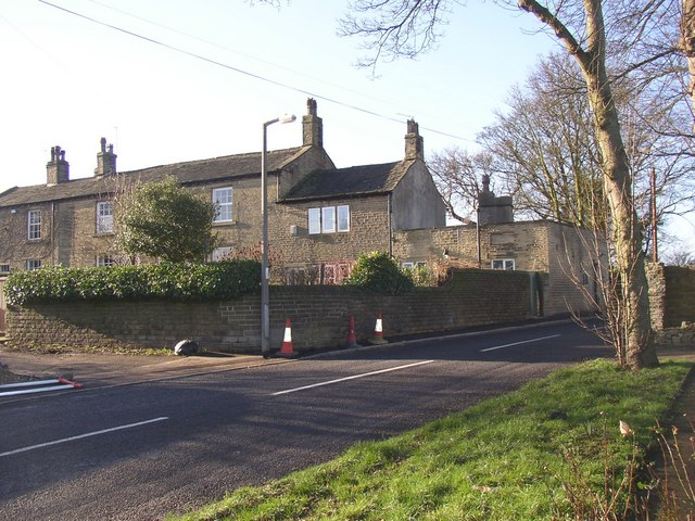 Houses off Toothill Lane, Rastrick