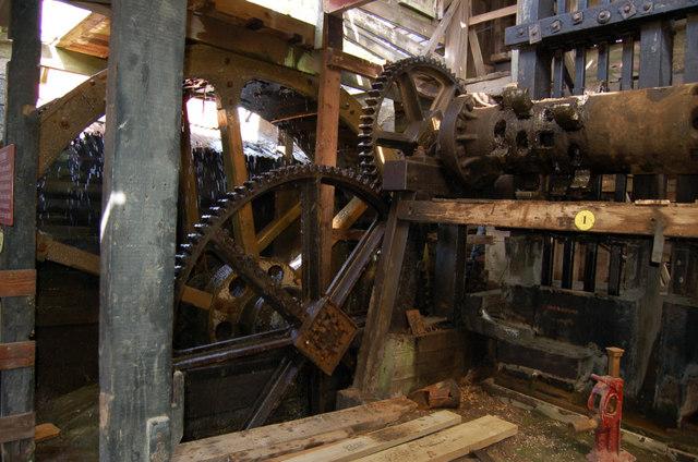 Tolgus mill water hammer
