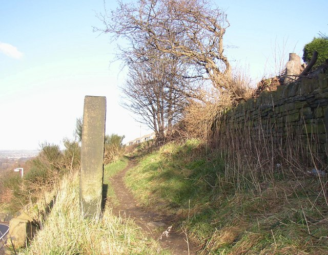 Footpath off Toothill Bank, Rastrick