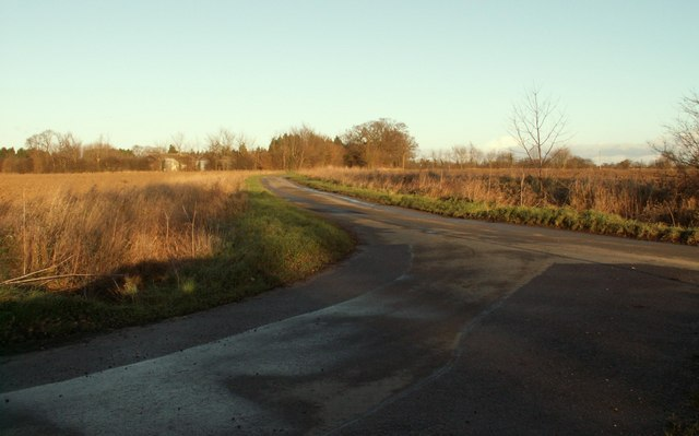 Country road to Thorndon