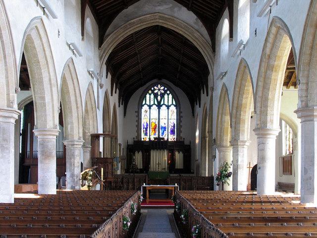 St Michael, Aylsham, Norfolk - East end