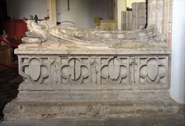 Holy Trinity, Ingham, Norfolk - Tomb chest