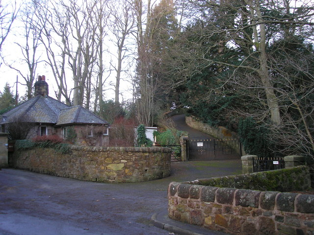 Entrance to Glencorse Old Kirk