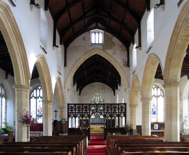 St Mary, Happisburgh, Norfolk - East end