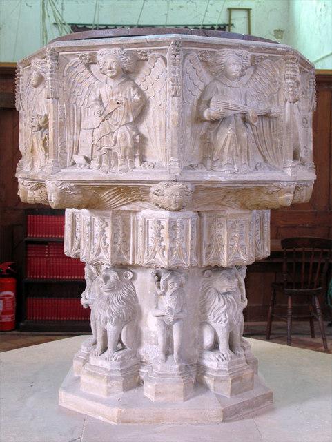 St Mary, Happisburgh, Norfolk - Font