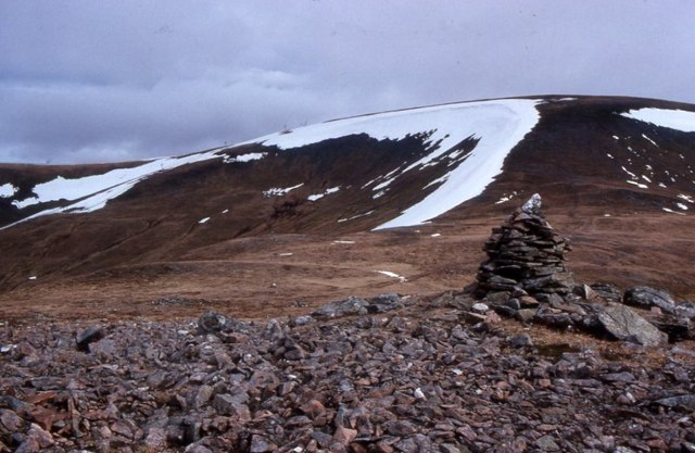 Meall Odhar and Glas Maol
