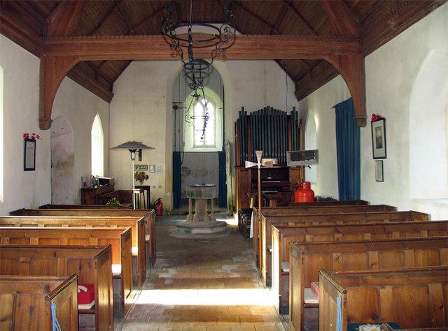 All Saints, Lessingham, Norfolk - West end
