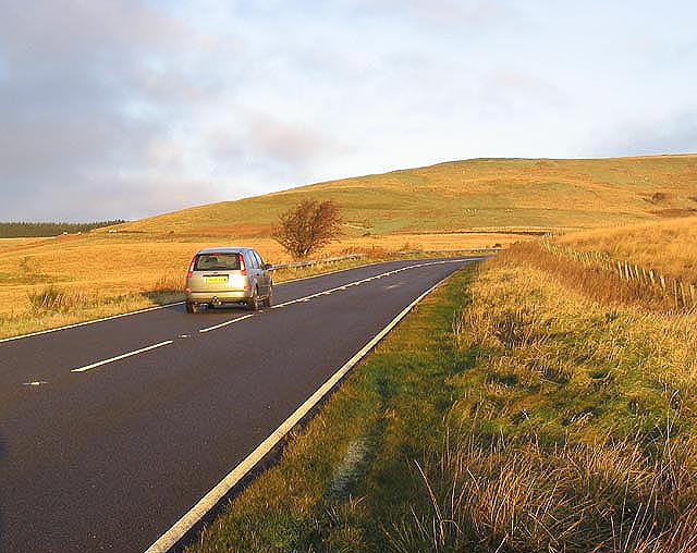 The A68 near Carter Bar