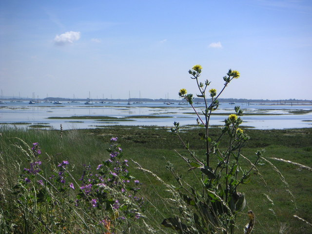 View of Emsworth Channel from Hayling Island