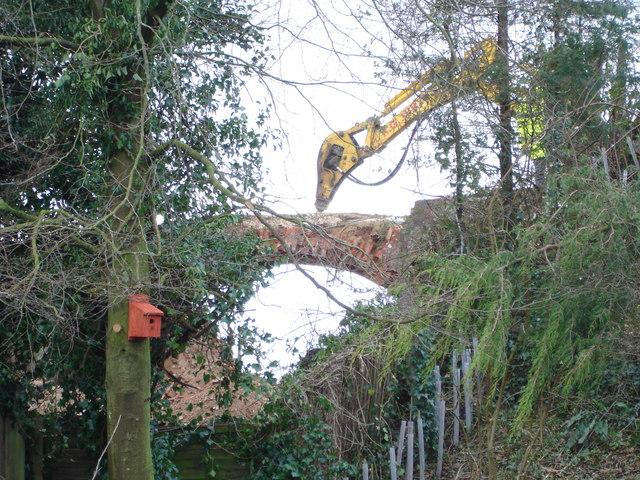 Demolition Job - End of the Bridge