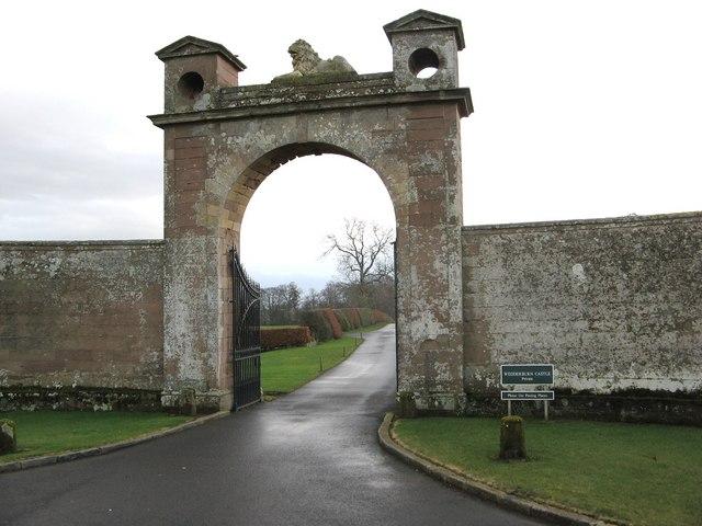 Gateway, Wedderburn Castle