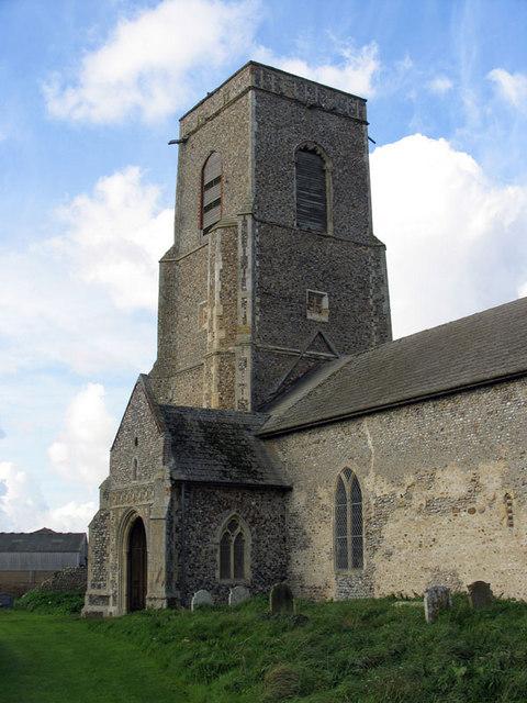 St John, Waxham, Norfolk - Tower
