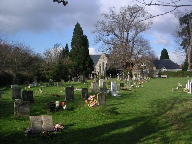 St John's Churchyard Rowlands Castle