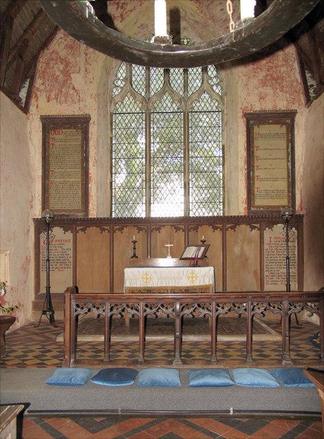 All Saints, Horsey, Norfolk - Sanctuary