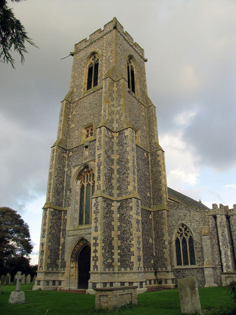 St Mary, Hickling, Norfolk - Tower