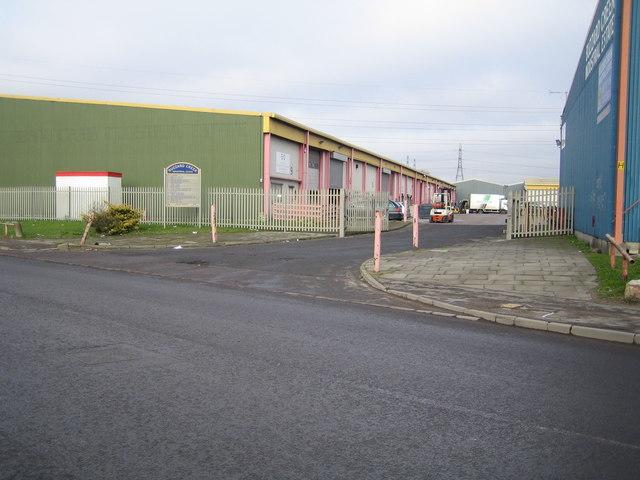 Creekmouth: Buzzard Creek Industrial Estate
