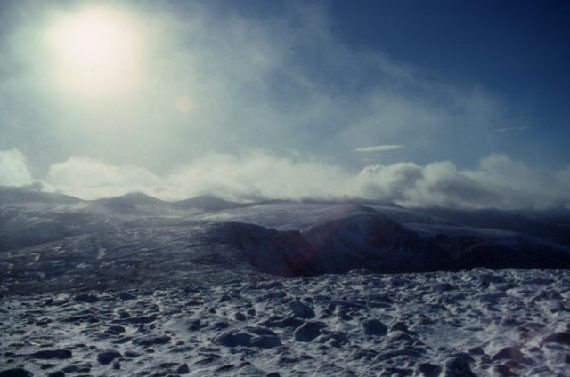 View SW from Cairn Gorm