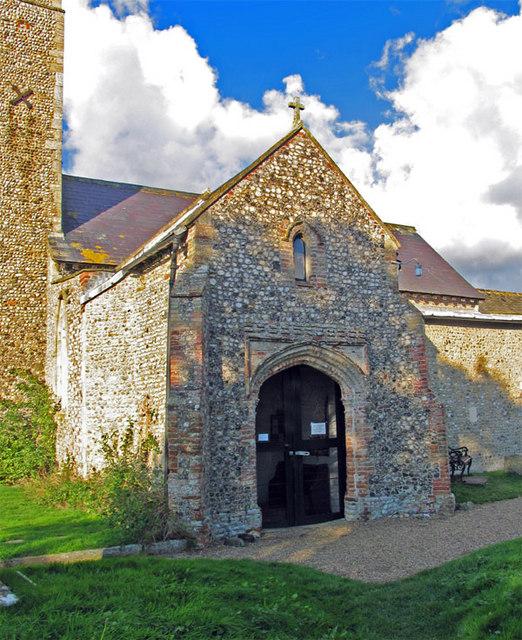 St Michael, Sutton, Norfolk - Porch