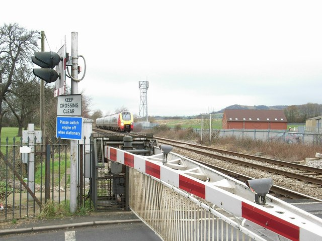 Stonehouse level crossing