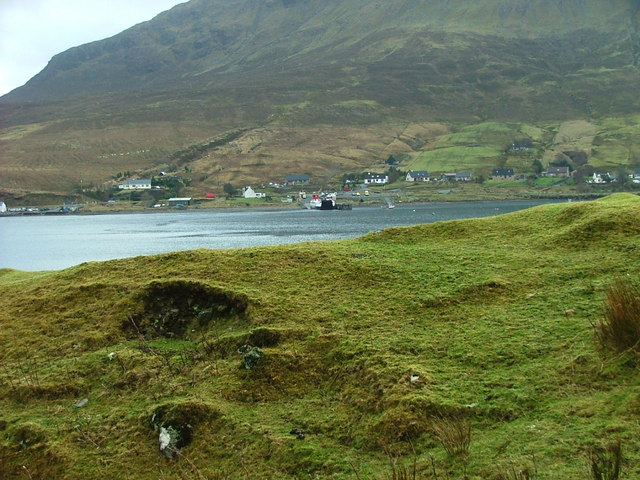 The Raasay Ferry at Sconser Pier