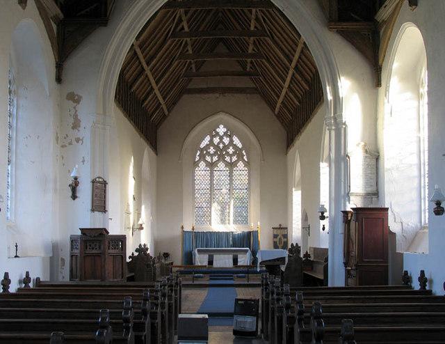 St Mary, Little Fransham, Norfolk - East end