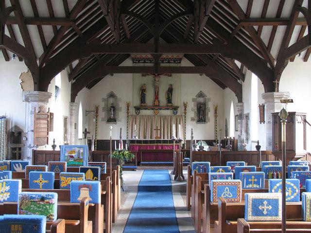 St George, Hindolveston, Norfolk - East end