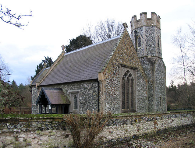 All Saints, Santon, Norfolk