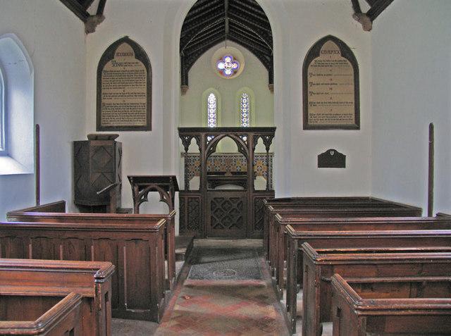 All Saints, Santon, Norfolk - East end