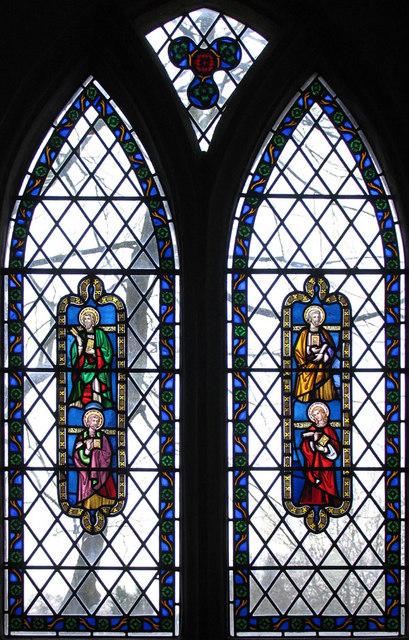 All Saints, Santon, Norfolk - Window