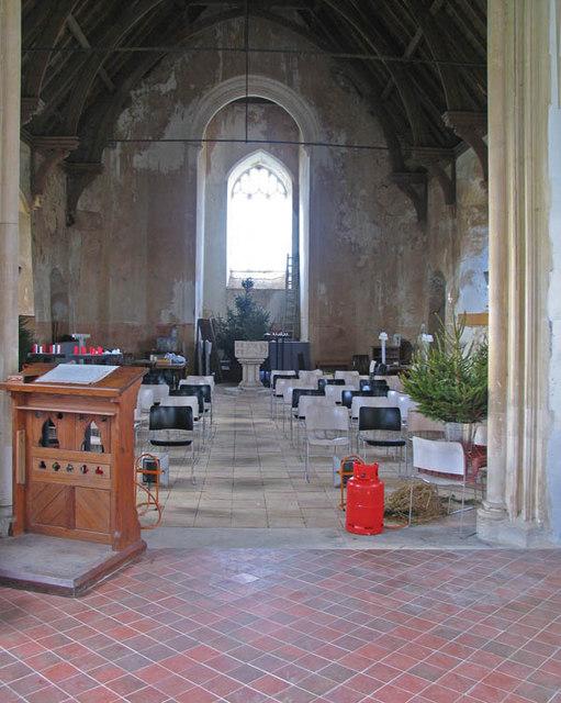 St Peter & St Paul, Runham, Norfolk - West end