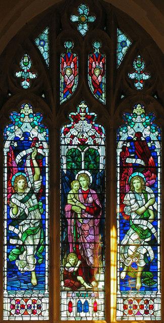 Sr Michael, Ormesby S Michael, Norfolk - East window
