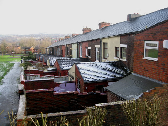 Rear of Charter Street Oldham