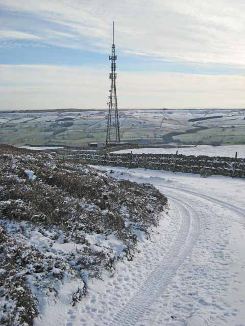 Telecommunications mast, Frosterley