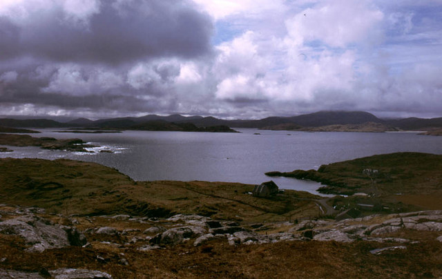 West Loch Roag from Beinn an Toib