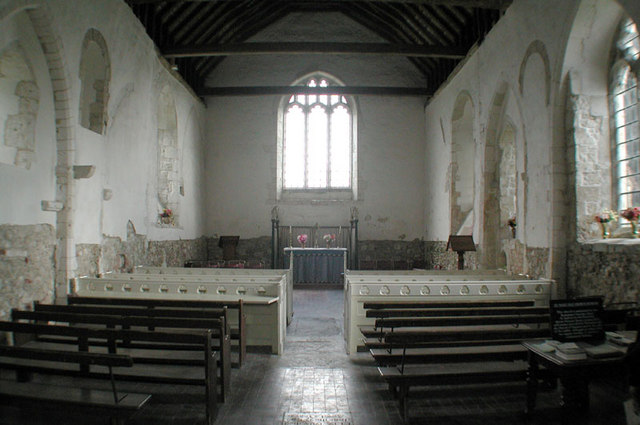 St Mary, Burham, Kent - East end